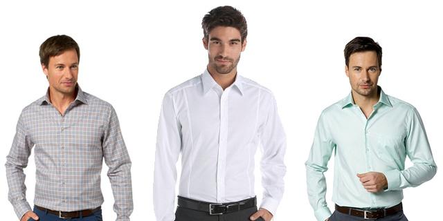Мужские офисные рубашки